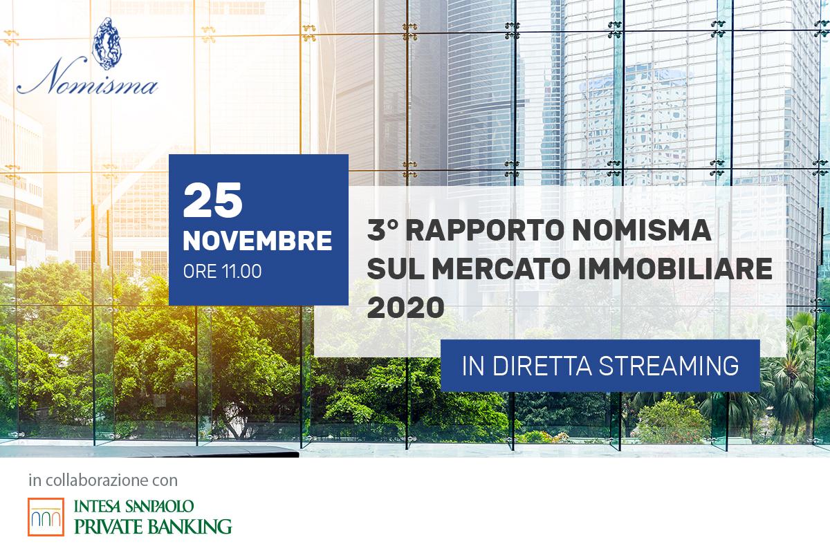 Osservatorio Immobiliare novembre 2020